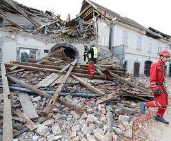 Zginęła dziewczynka. Podano liczbę ofiar trzęsienia ziemi w Chorwacji