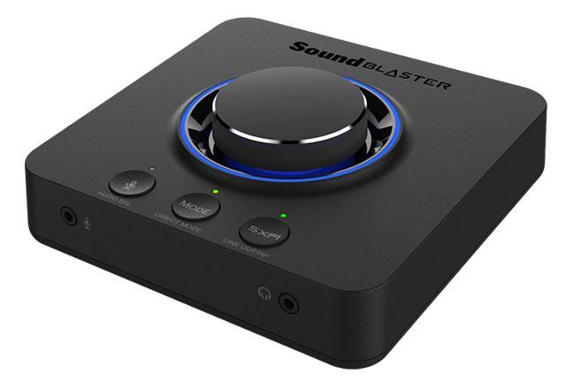 Sound Blaster X3 uosabia także najlepsze ze znanych technologii cyfrowego przetwarzania