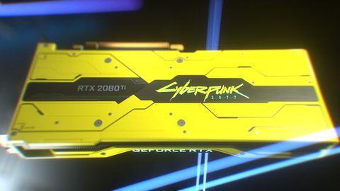 GeForce RTX 2080 Ti Cyberpunk 2077 Edition jak biały kruk. Ceny sięgają 25 tys. zł