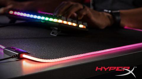 HyperX prezentuje nową podkładkę gamingową Pulsefire Mat RGB