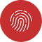 Fingerprint Quick Action icon