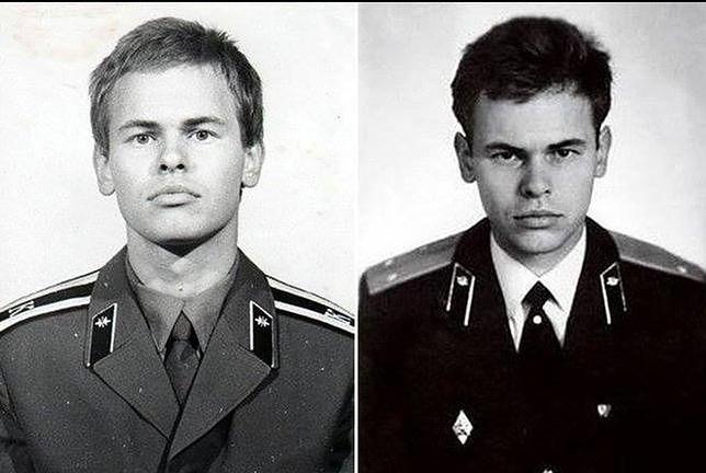 Kasperski w radzieckim mundurze.