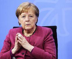 Angela Merkel najpierw otrzymała AstraZenekę. Teraz... Modernę