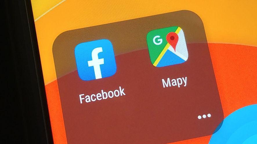 Facebook i Mapy Google – nietypowe porównanie, fot. Oskar Ziomek