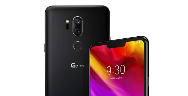 LG G7 ThinQ – na froncie wyraźna inspiracja iPhonem X połączona ze wzornictwem LG G6.