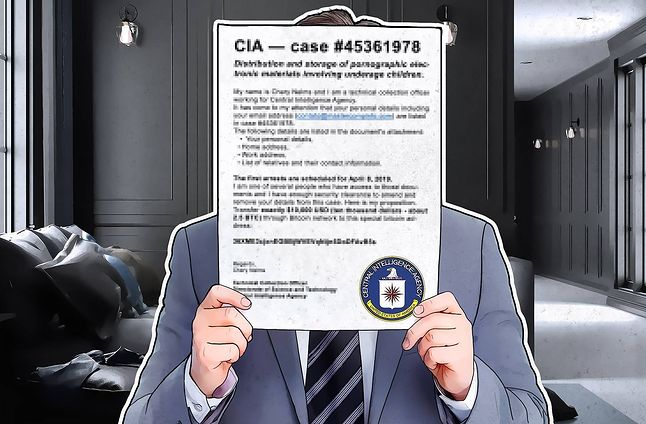 W czerwcu oszuści podszywali się pod skorumpowanych agentów CIA.