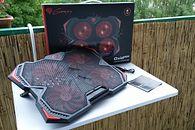 Genesis Oxid 250 — tania i podświetlana podstawka chłodząca pod laptopa