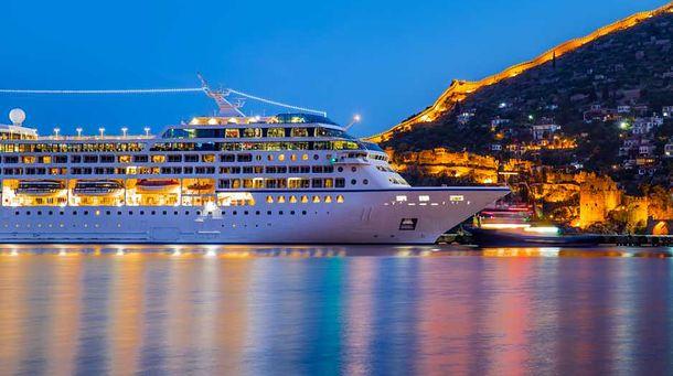 Luksusowym statkiem przez świat