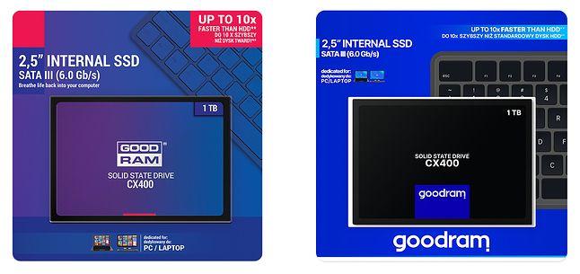 GOODRAM CX400 i jego dwie edycje wzornictwa (fot. GOODRAM)