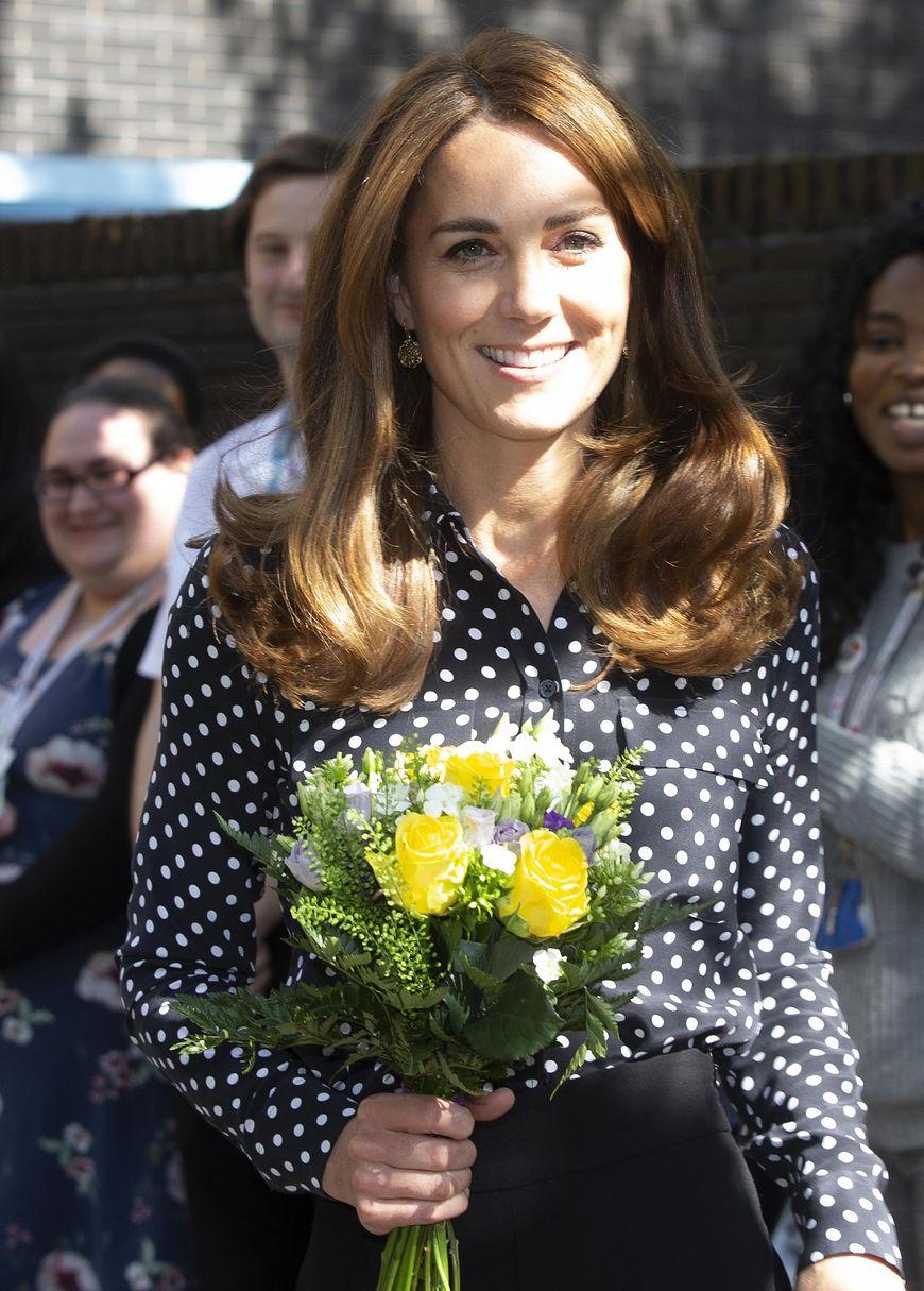 Kate Middleton w spodniach z Zary