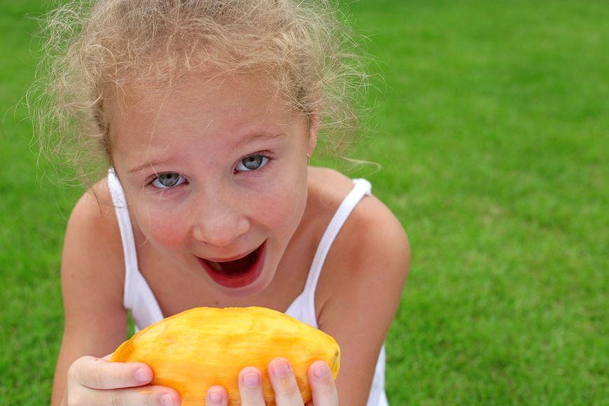 Egzotyczny owoc mango