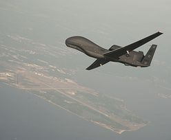 Szpiegowski dron RQ-4 Global Hawk nad Polską