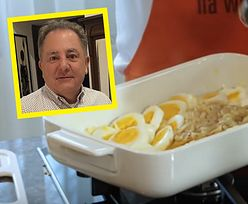 Jajka po lyońsku wg Makłowicza. Tanie i proste danie na Wielkanoc