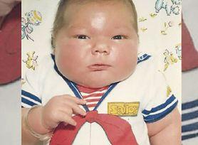 Jeden z największych noworodków ważył 7,5 kg. Jak teraz wygląda?
