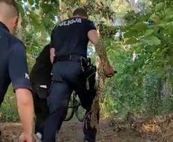 Policja wezwała rodziców. Przykry widok nad jeziorem w Wągrowcu