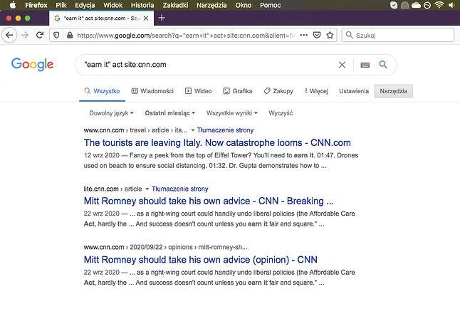 Minął tydzień. Czy CNN coś pisało? Nie. (fot. Kamil Dudek)