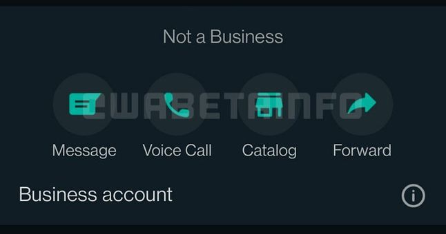 Nowy widok skrótów w WhatsApp Business
