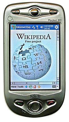 Urządzenie typu Pocket PC – Xda III