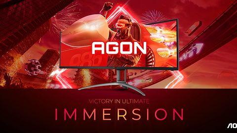 AOC odświeża serię AGON. Na początek dwa ultraszerokie monitory