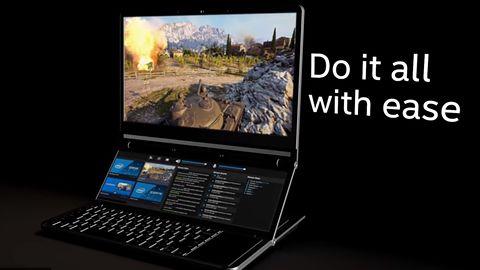 Intel Honeycomb Glacier. Koncepcyjny notebook z dwoma ekranami