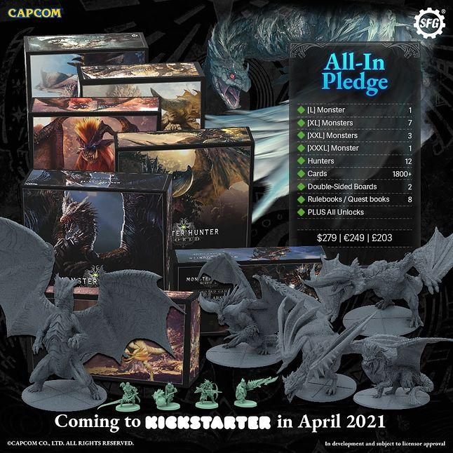 Monster Hunter World: The Board Game