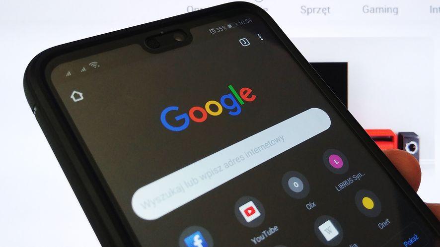 W Google Chrome na Androidzie można już testować ciemny motyw