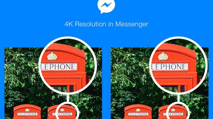 Messenger wreszcie pozwoli na wysyłanie zdjęć w 4K