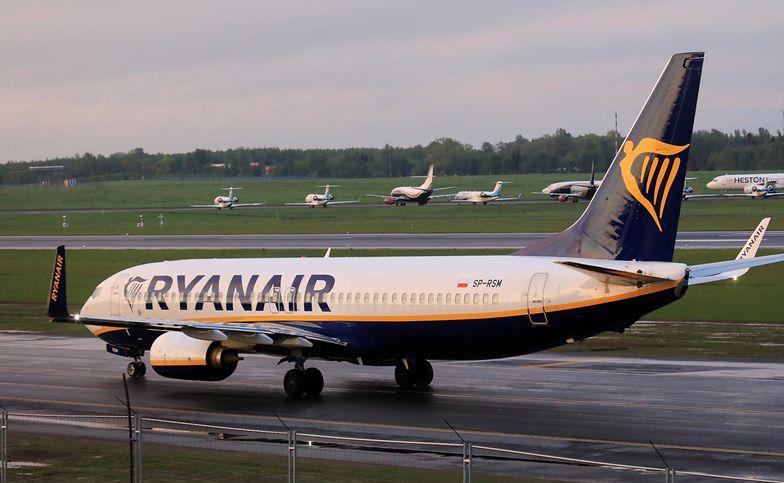"""To nasza rekomendacja"". Opublikowano transkrypcję rozmowy pilota Ryanaira z dyspozytorem"
