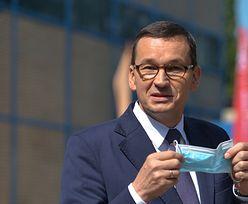"""""""Gorące"""" powitanie premiera Morawieckiego. Skandowali wulgarne hasła"""