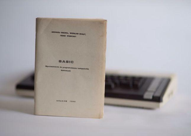 """Pierwowzór książki Atari Basic (źródło: Krzysztof """"Kaz"""" Ziembik)"""