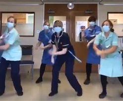 W szpitalach tańczą dla rozluźnienia atmosfery. Fala krytyki ze strony internautów