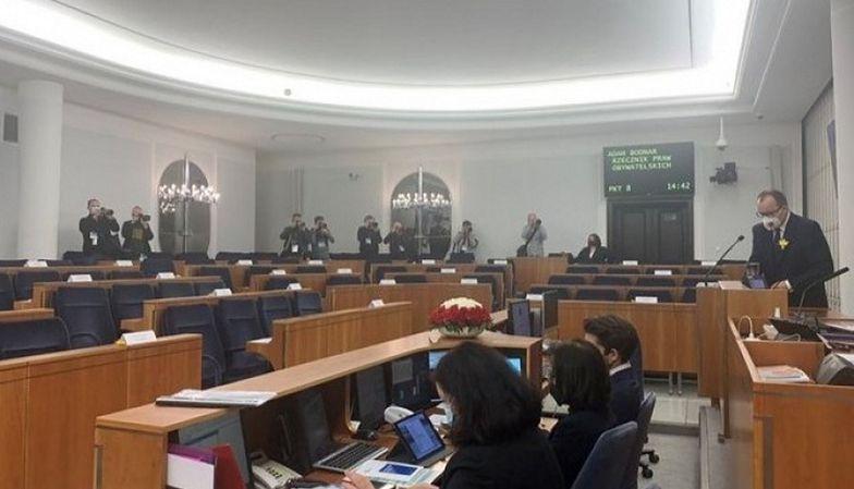 Przemówienie Rzecznika Praw Obywatelskich. Senatorowie PiS zrobili coś dziwnego