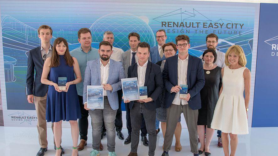 "Znamy laureatów konkursu ""Renault Easy City. Design the Future"""