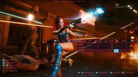 A tak będzie wyglądał tryb foto w Cyberpunku 2077