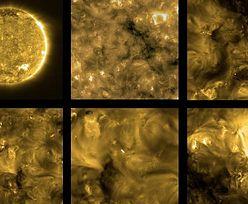 Najnowsze zdjęcia Słońca. Po raz pierwszy obserwujemy je z tak bliska