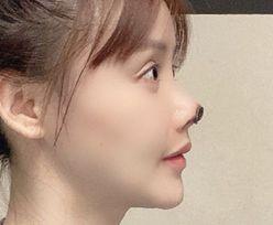 Chińska gwiazda zrobiła operację nosa. Przestrzega innych