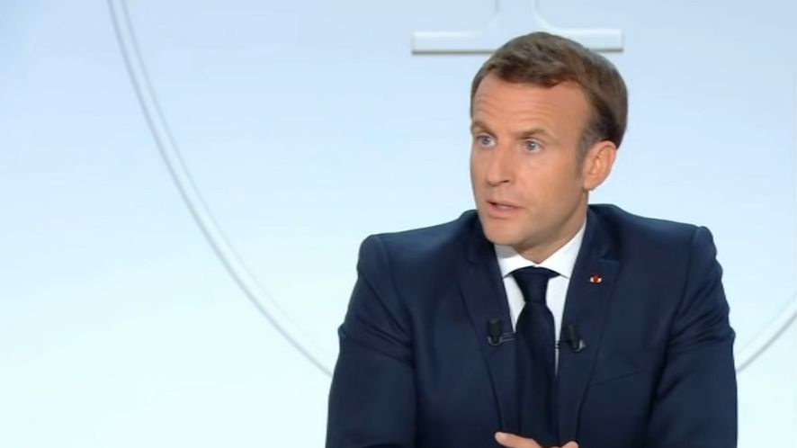 Francuska aplikacja StopCovid nie zadziałała - przyznaje prezydent Emmanuel Macron
