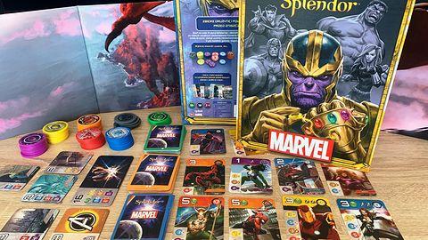 Splendor Marvel - uzależniający klasyk przyprawiony szczyptą komiksów [Recenzja]