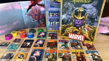 Splendor Marvel - uzależniający klasyk przyprawiony szczyptą komiksów [Recenzja] - Splendor Marvel