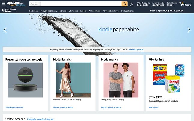 Amazon nadal ma swoje atuty