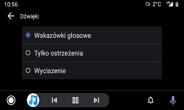 Są i ustawienia dźwięków. Jak akurat dźwięk działa, to faktycznie zgodnie z tymi opcjami, fot. Oskar Ziomek.