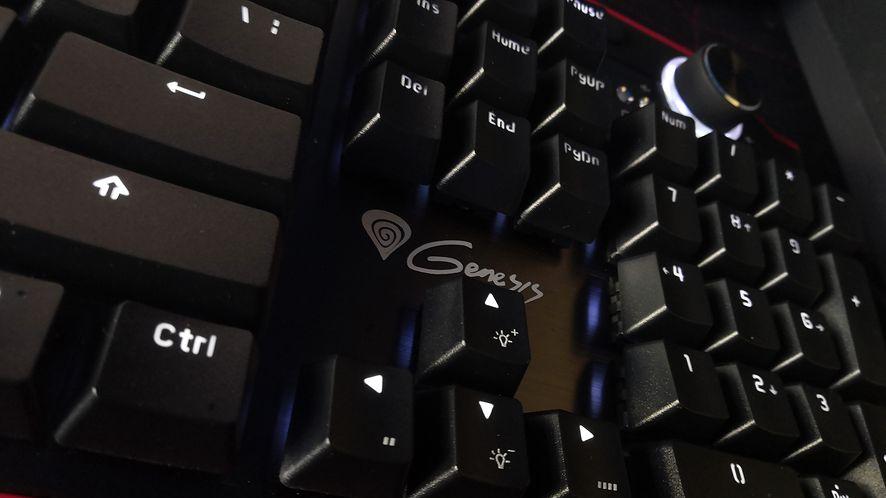 Test Genesis RX85 – pełnowymiarowa klawiatura mechaniczna z podpórką, na każdą kieszeń