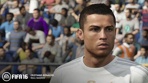 Ronaldo, Benzema, Modrić, Rodriguez i Ramos jak żywi w FIFA 16. EA Sports oficjalnym partnerem Realu Madryt