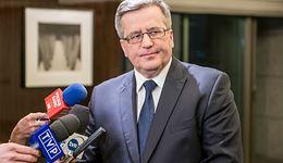 Bronisław Komorowski przesłuchany w sprawie Amber Gold. Prokuratura pyta o notatkę ABW