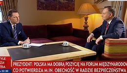 Prezydent o konferencji Polski i USA ws. Bliskiego Wsch.: Pewne rzeczy trzeba robić