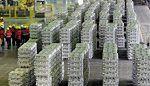 Eksport aluminium z Rosji wzrósł o prawie 3 procent