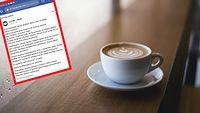 Kawiarnia chciała płacić swoim klientom za napisanie opinii