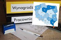 Na mapie Polski są ciągle czarne plamy bezrobocia