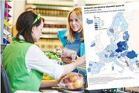 Wskaxnik zatrudnienia dane Eurostatu