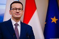 Premier Mateusz Morawiecki nie kryje dumy z najnowszych danych Eurostatu.